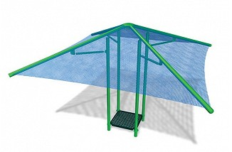 Square Canopy Fabric Shade