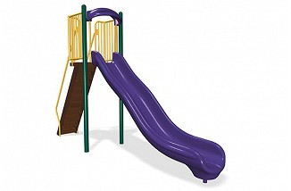 Freestanding 6' Single Velocity Wave Slide