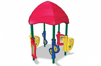 Funstation with Curvy Canopy
