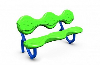 Drizzle Bench with Back