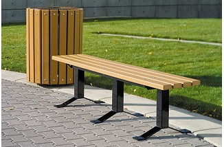 Bollard Style Bench (without back)