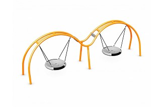 Double Flying Saucer Swing
