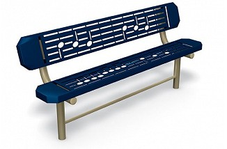 Music Bench - Surface Mount