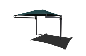 Hanging Cantilever Shade