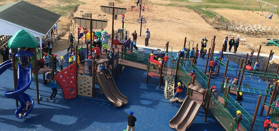Douglas Road Elementary awarded National Demonstration Site status for Inclusive Play