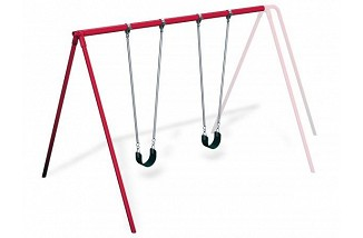 "3 1/2"" Galvanized 8' Tripod Swing Add-A-Bay"