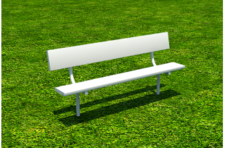 6' Player Bench