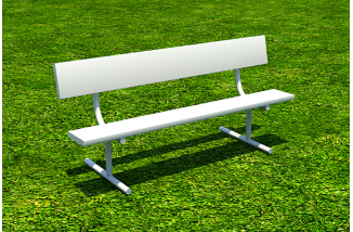 6' Player Bench Portable
