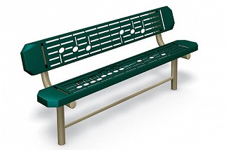 Music Bench - In-Ground