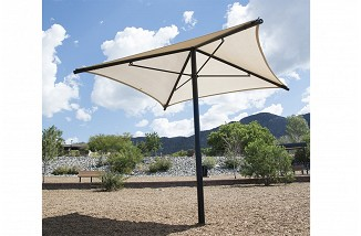 Freestanding Square Umbrella Shade