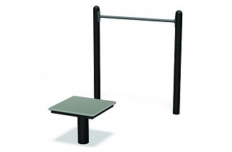 FitTech Horizontal Chin-Up Station
