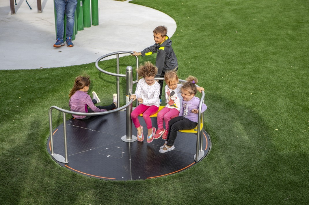 Indian Creek Library Playground