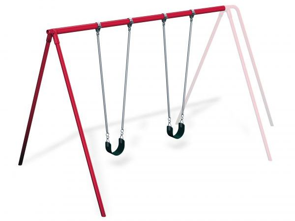 "P68033 - 3 1/2"" Painted 10' Tripod Swing Add-A-Bay Image"